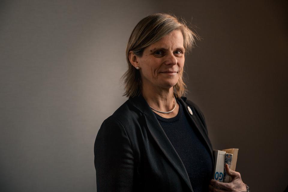 De leeswereld van rector Caroline Pauwels