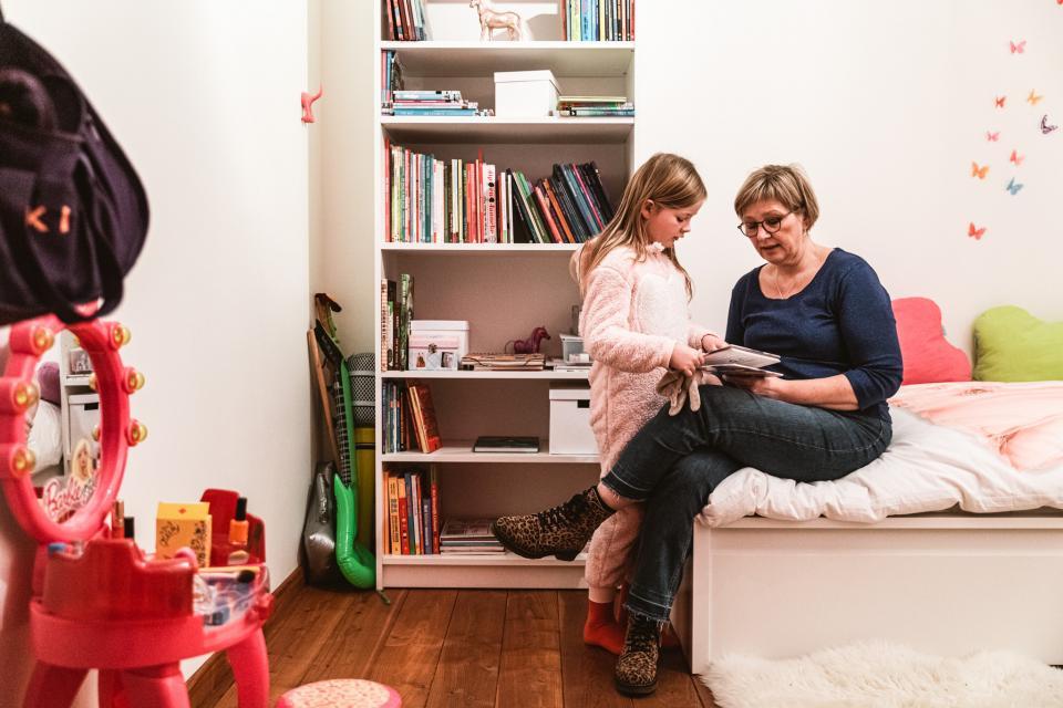 Cathérine Vandoorne en dochter