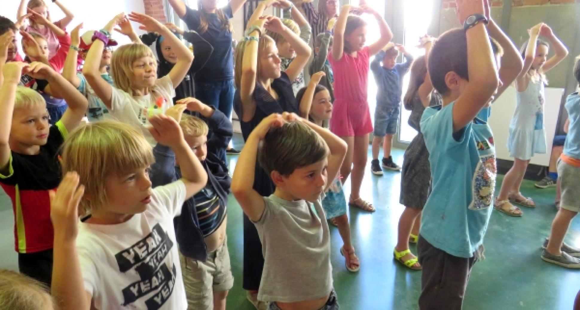 Dolle juniordagen: Miniolympics