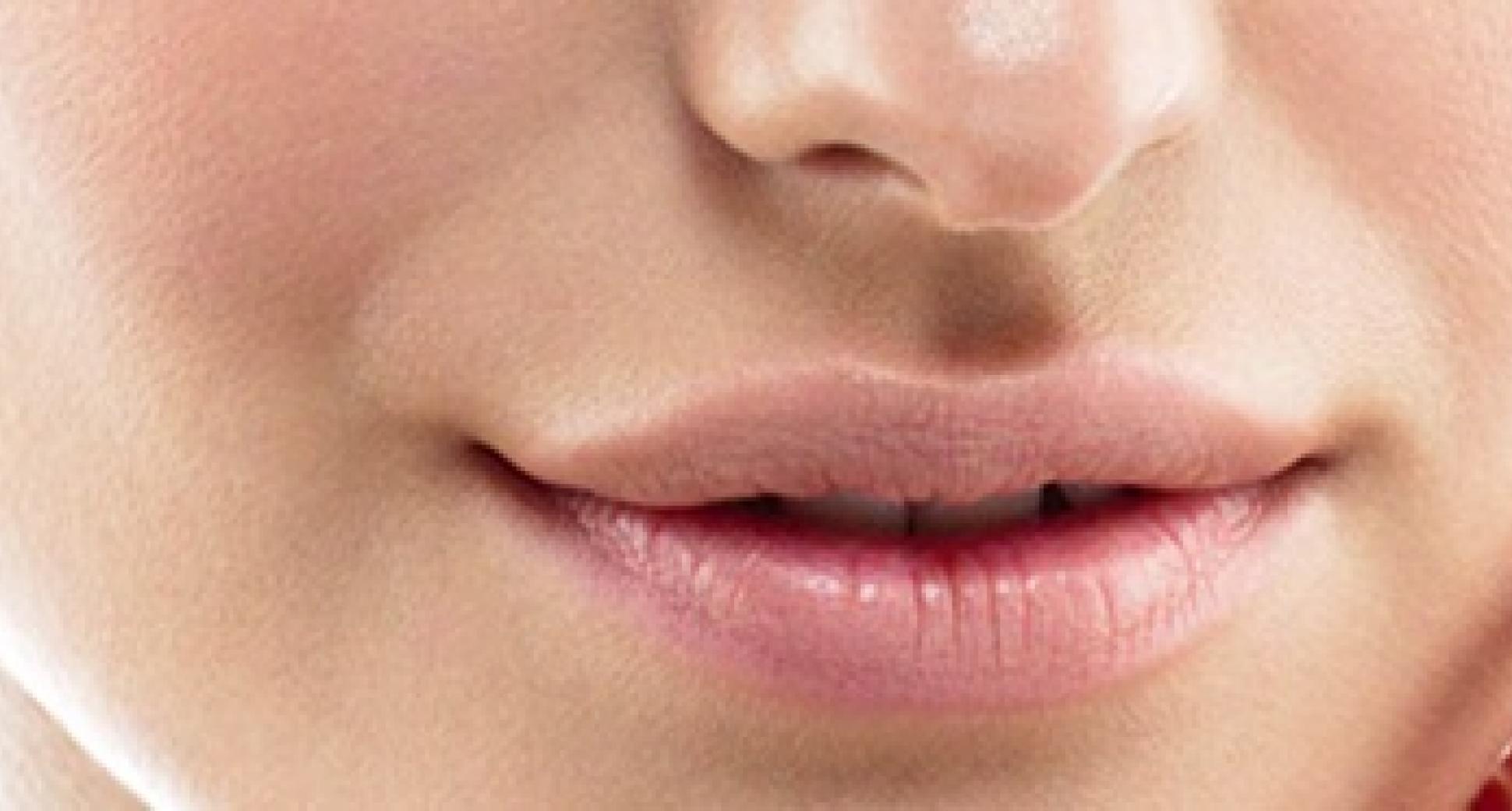 Waarom zit er een gootje onder je neus?