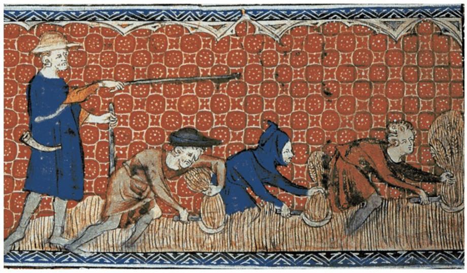 Lijfeigenen in de vroege middeleeuwen