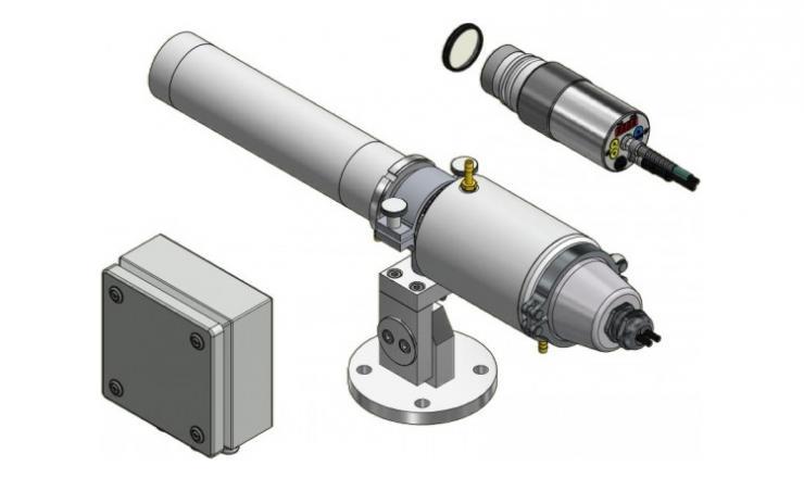 Toebehoren voor optische pyrometers