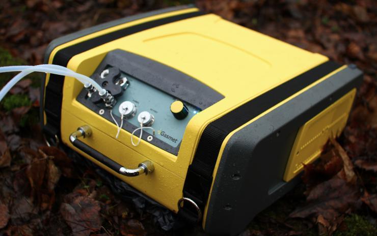 Dx4040 draagbare FTIR