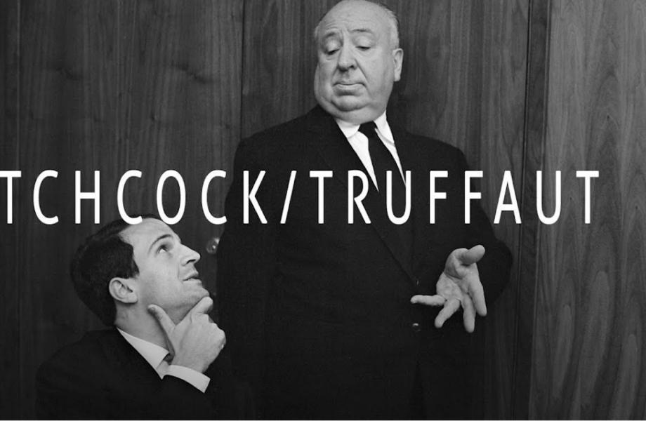 Promobeeld Hitchcock/Truffaut van tg STAN