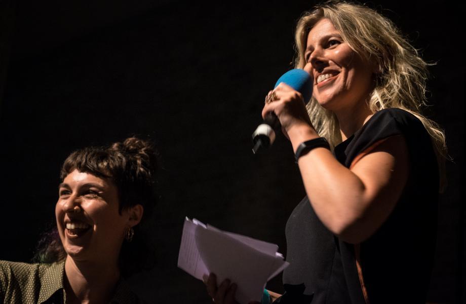 Zoe McPherson en Lies Steppe - In Dreams 2018 © Stijn Van Bosstraeten