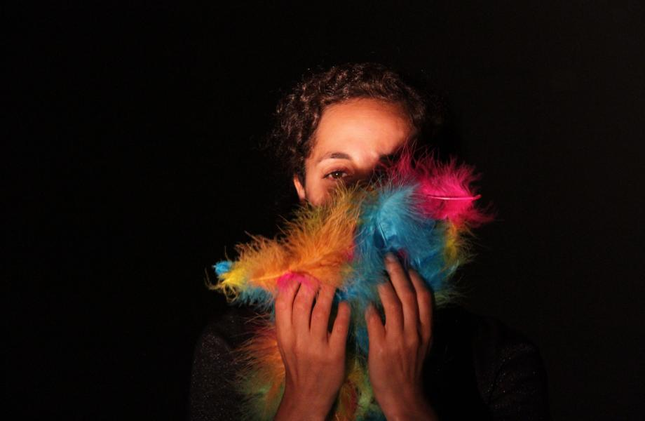Rainbow - Nazanin Fakoor (portrait) © Moulay Guissé