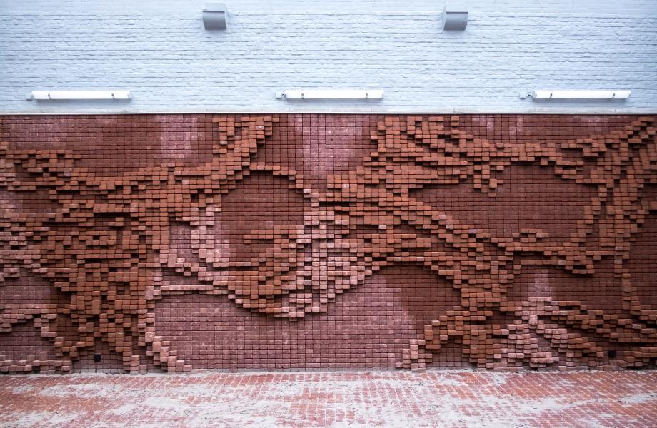 Kunstwerk Nick Ervinck - kunstencentrum nona © Stijn Van Bosstraeten