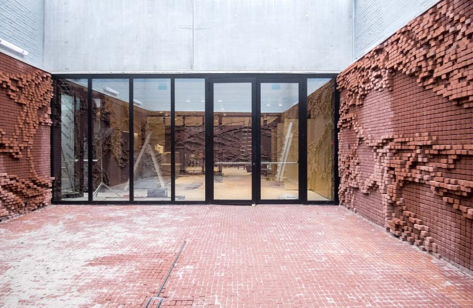 Patio kunstencentrum nona - Nick Ervinck Patio kunstencentrum nona - Nick Ervinck © Stijn Van Bosstraeten