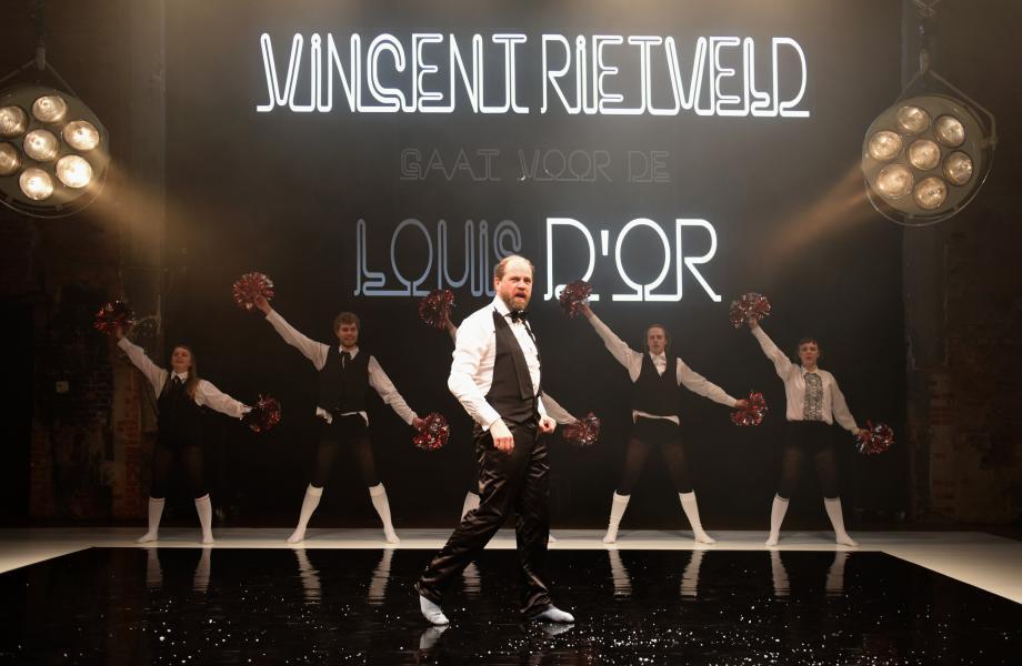 Vincent Rietveld gaat voor de Louis d'Or - De Warme Winkel - kunstencentrum nona © Sofie Knijff
