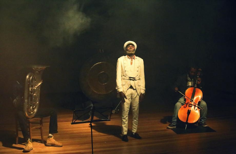 Lanscape Orchestra - Niko Hafkenscheid, Pablo Castilla & Hedvig Biong © Alex Cepile