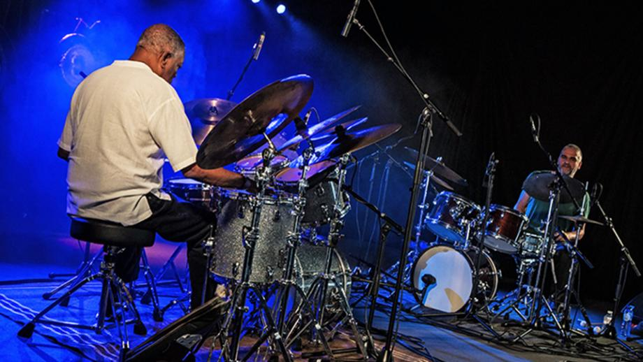 Billy Hart & Eric Thielemans © Jassepoes