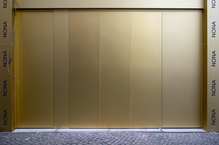 Gevel kunstencentrum nona © Stijn Van Bosstraeten