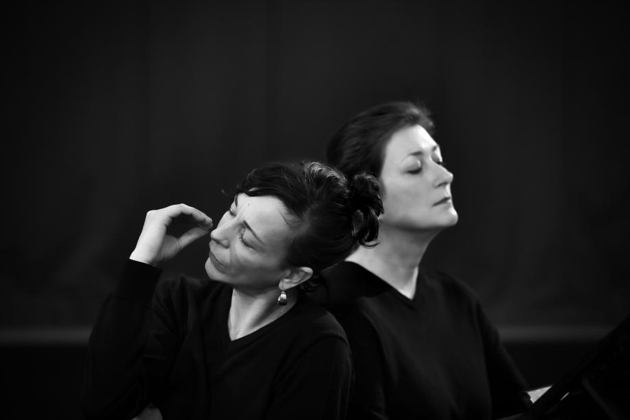 Piano Works Debussy - Voetvolk/Lisbeth Gruwez & Claire Chevallier - kunstencentrum nona © Danny Willems
