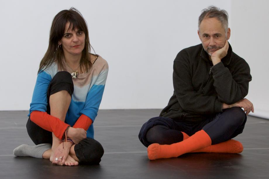 Dans voor actrice - Jérôme Bel & tg STAN - kunstencentrum nona © Herman Sorgeloos