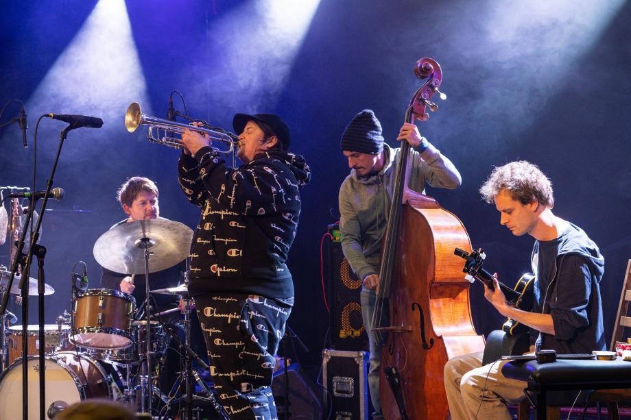 Dave Gisler Trio feat. Jaimie Branch - kunstencentrum nona © Palma Fiacco
