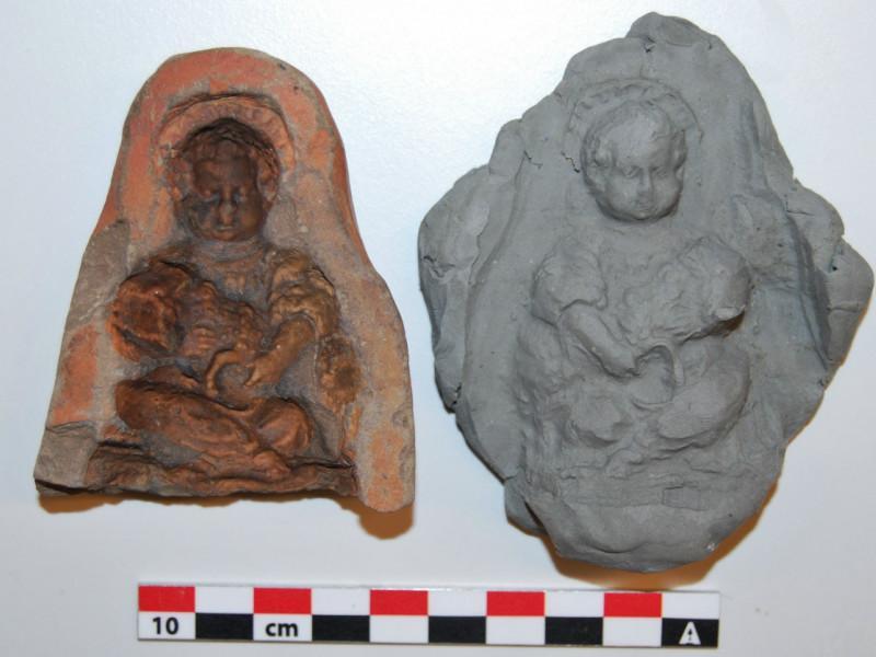 aardenwerken mal die gevonden is ter hoogte van de Kipdorpbrug