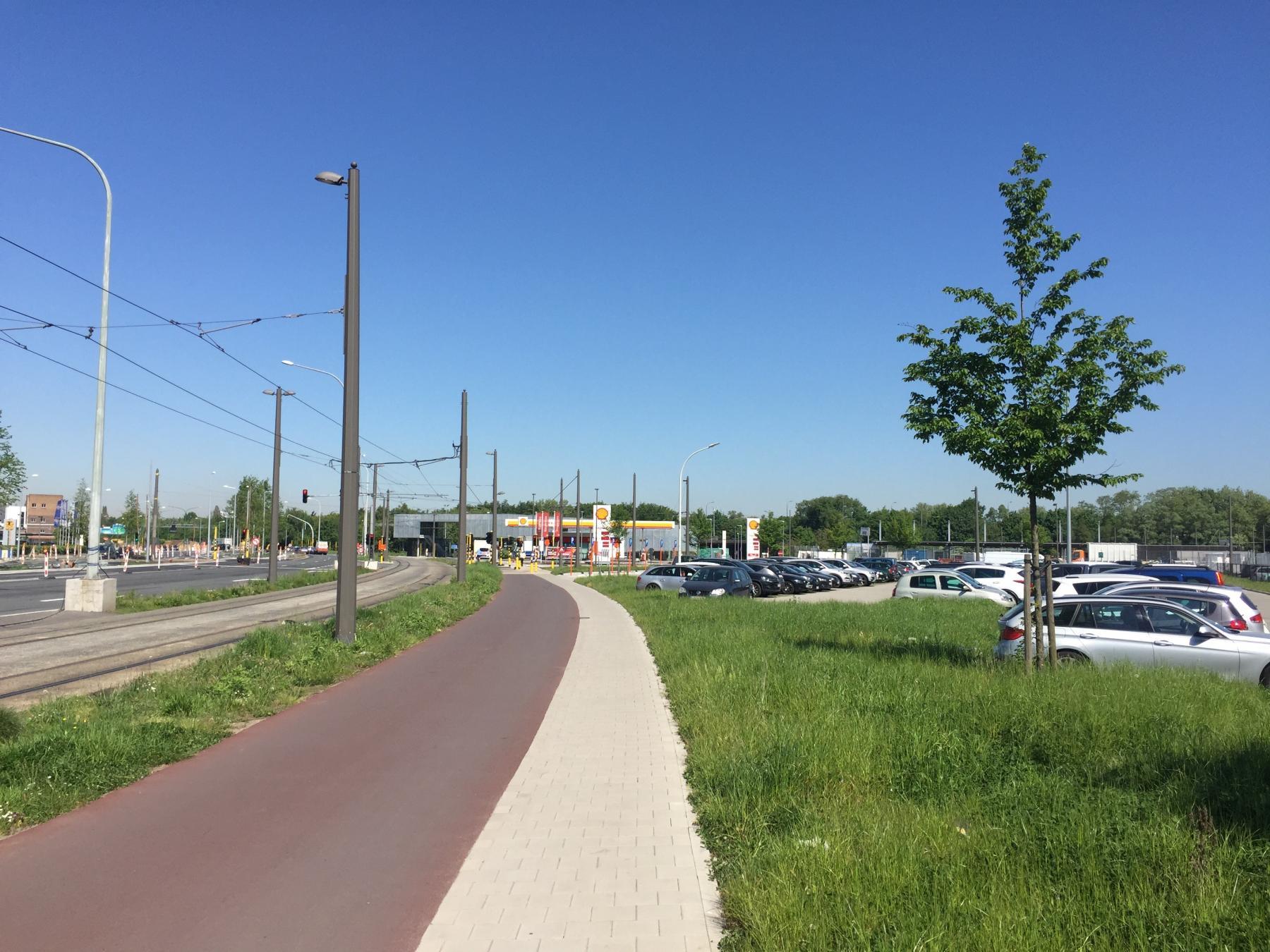 fietspad en voetpad Noorderlaan