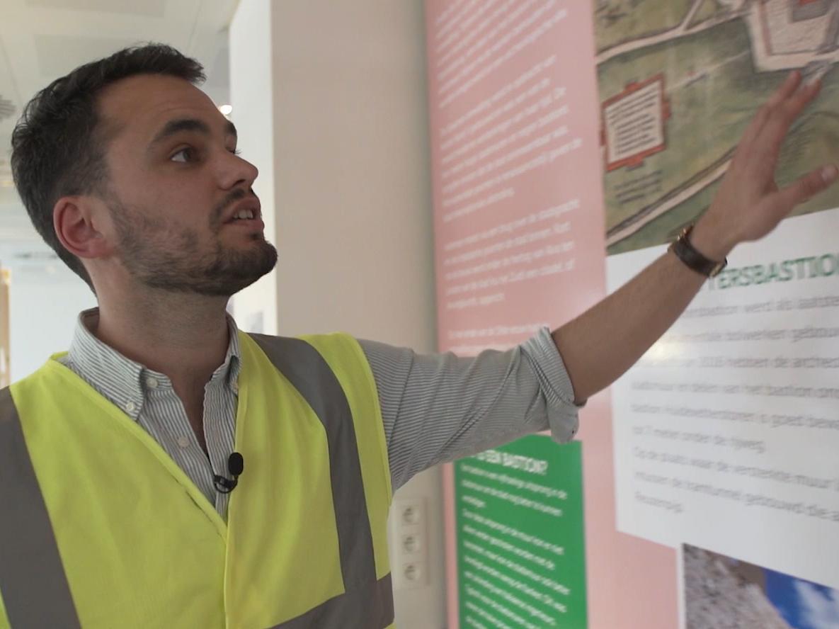 Foto van Christof, projectleider kipdorpbrug