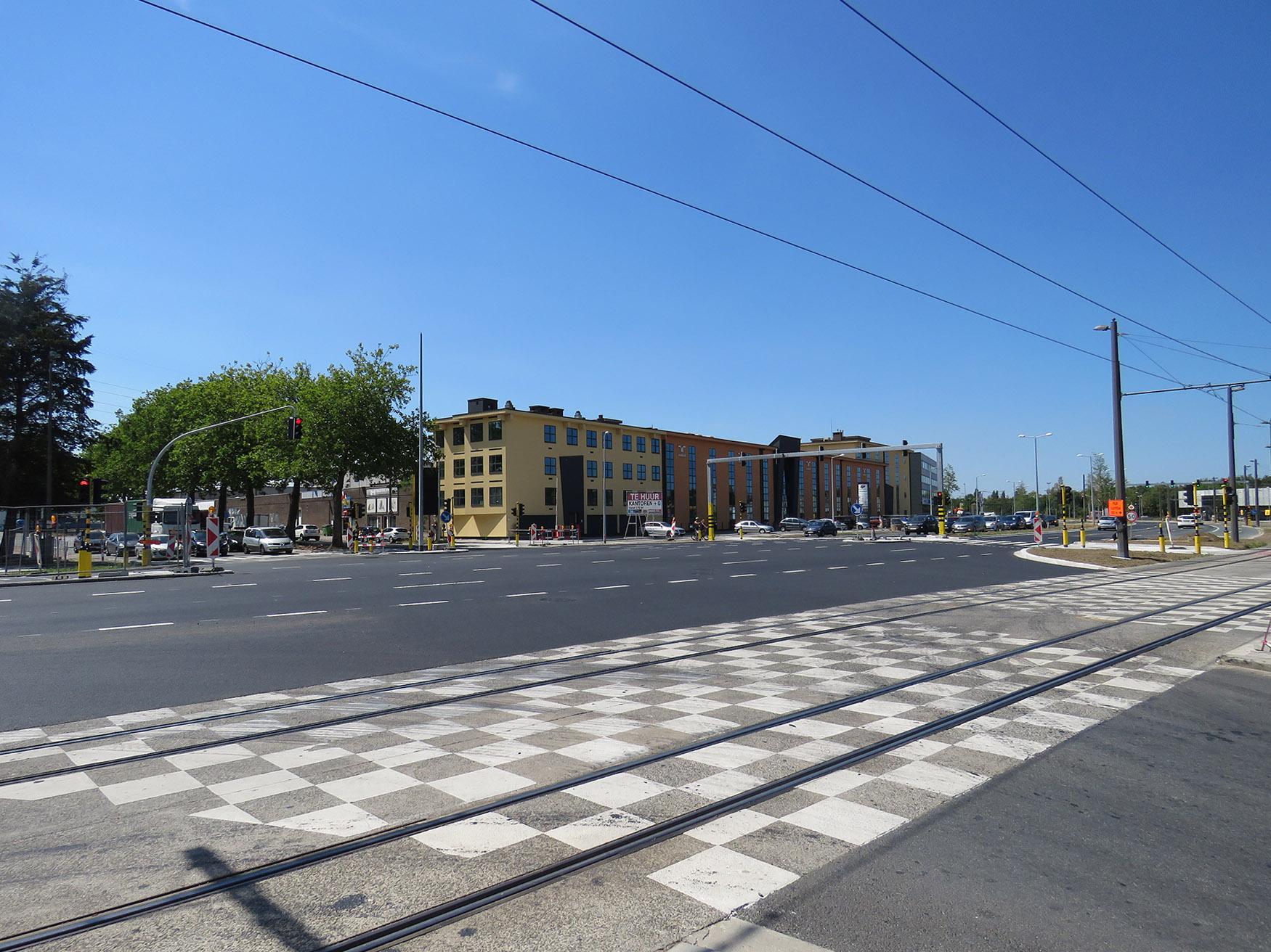 Kruispunt Havanastraat op de Noorderlaan