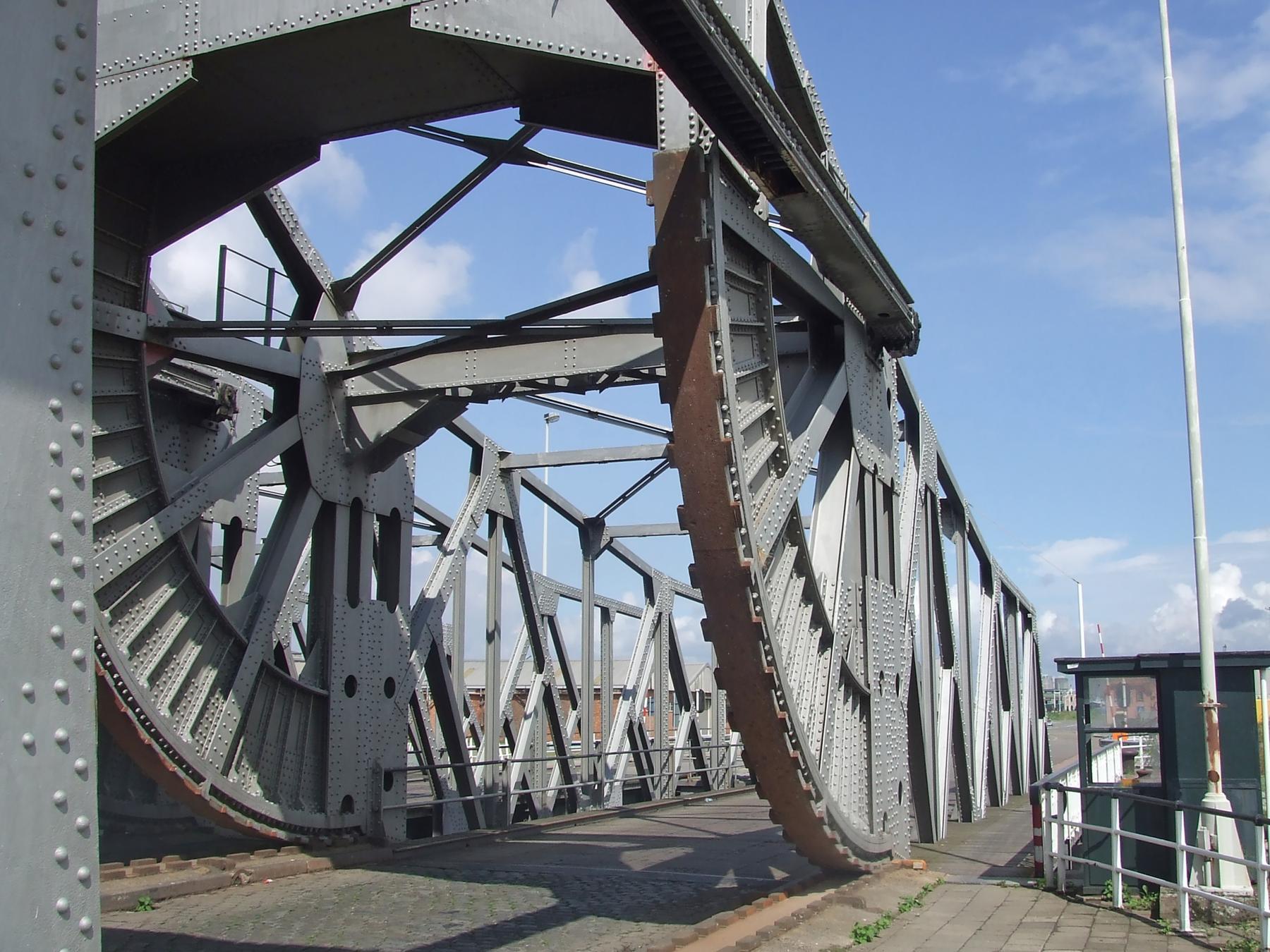 Op deze foto ziet u de Mexicobrug