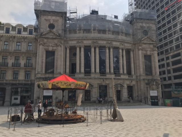 Carrousel op het Operaplein