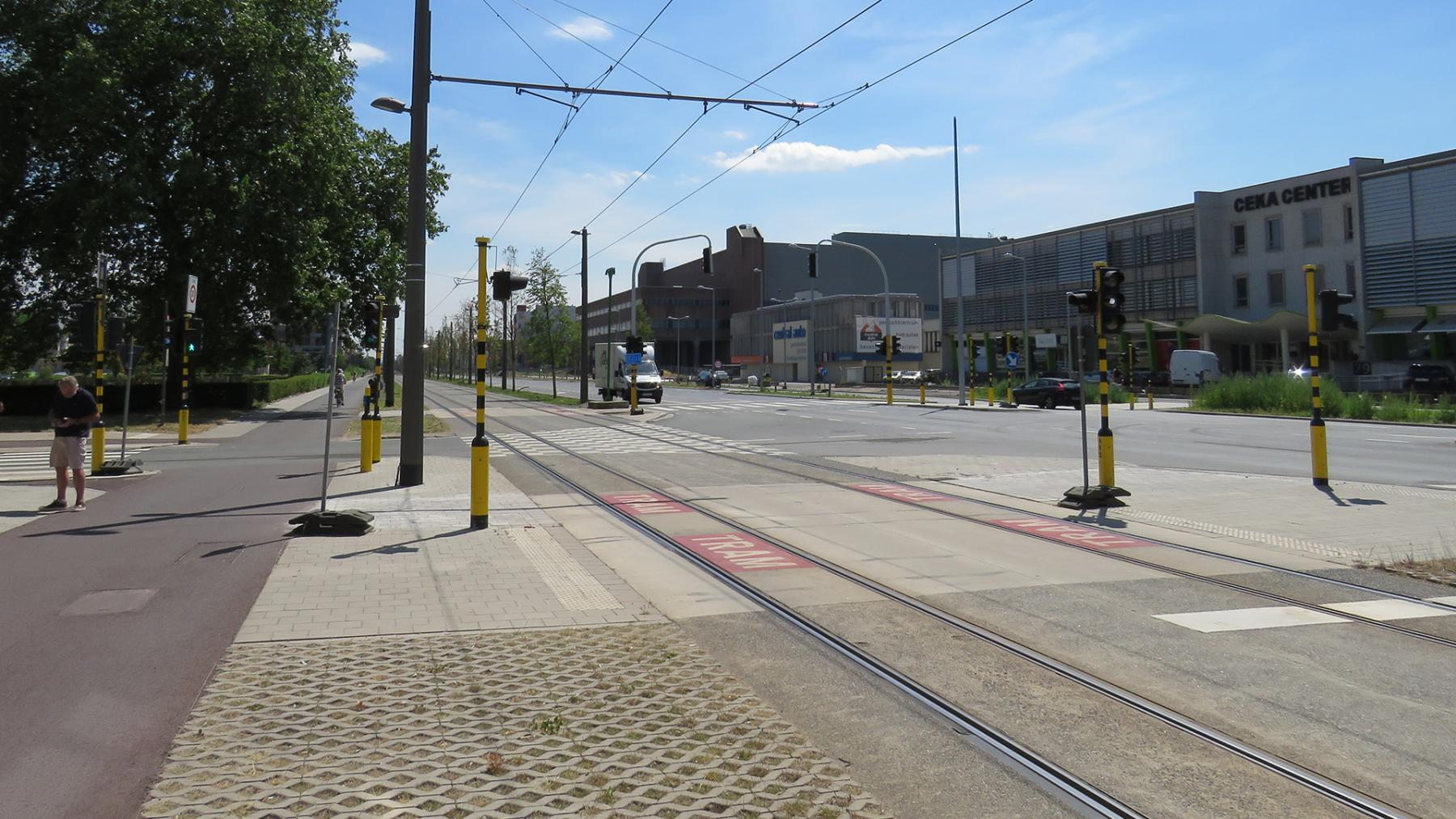 kruispunt Manchesterlaan
