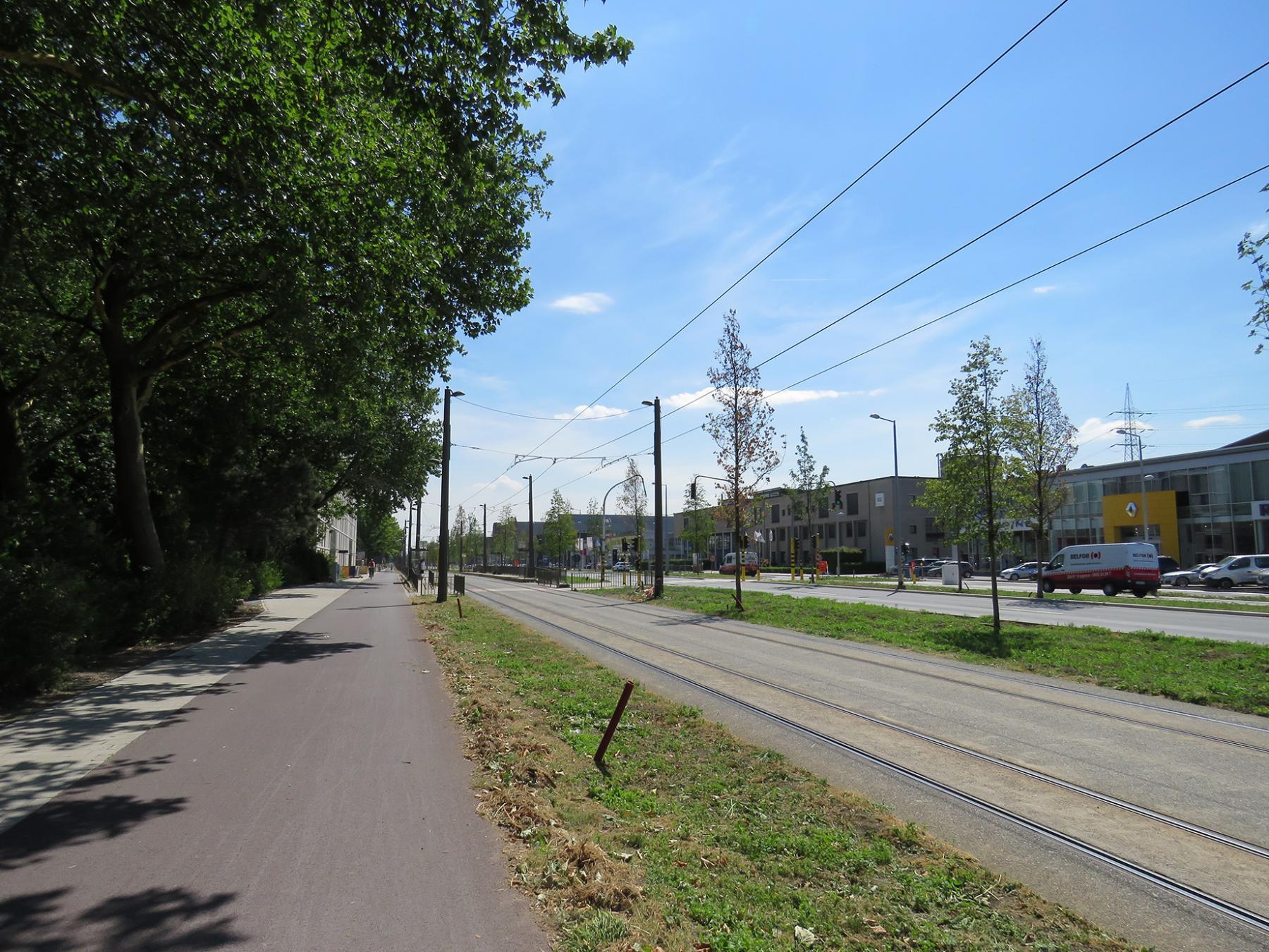 fietspad Noorderlaan