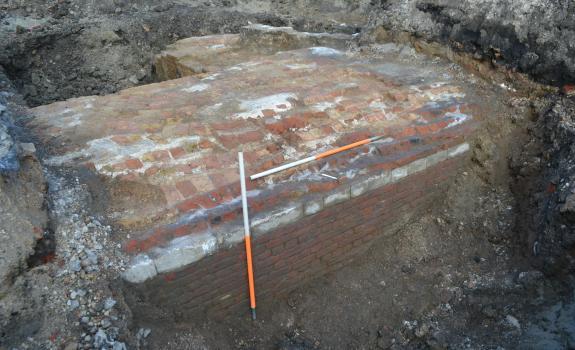 Archeologische restanten bastion Kattenberg