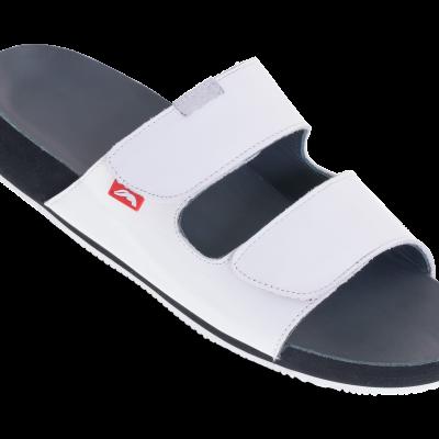 dames tweeband sandaal wit