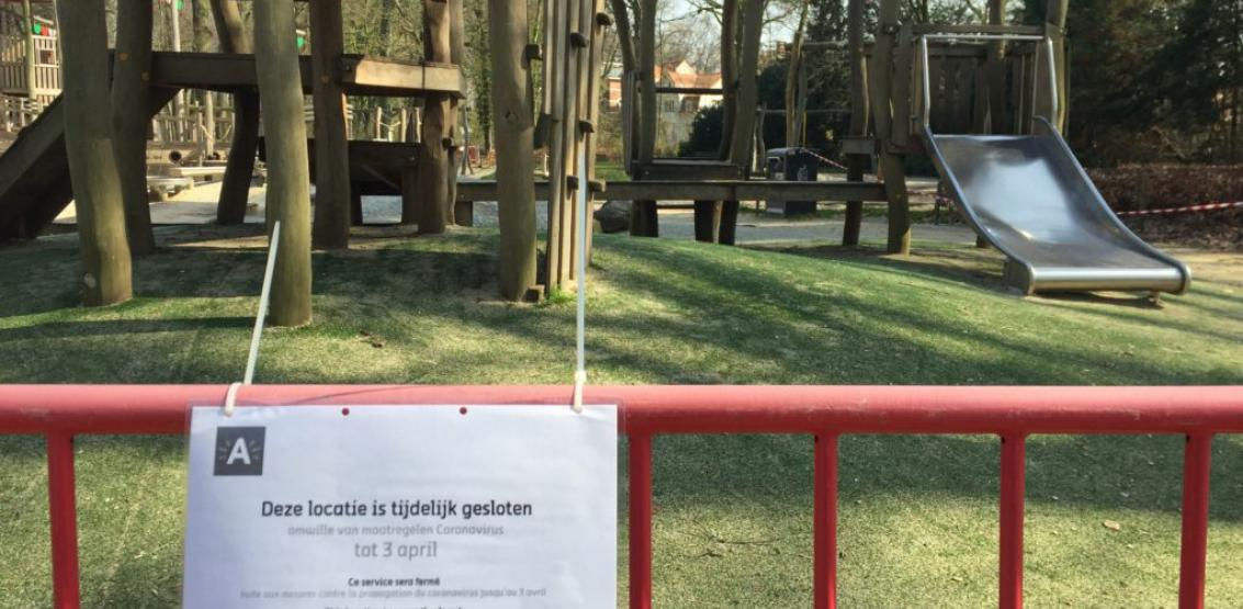 Park gesloten