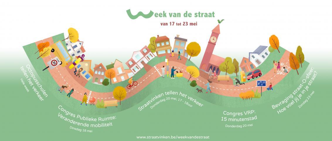 Straatvinken vindt dit jaar plaats tijdens de Week van de Straat.