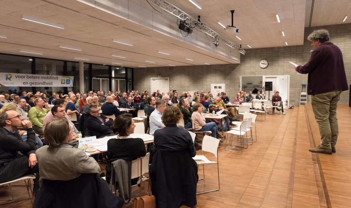 Debatavond in Mortsel.