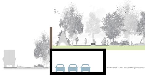 De 'vierde koker' wordt het best gebouwd vóór de aanleg van het Ringpark Groene Vesten.