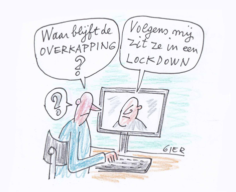 Cartoon Gie Campo.