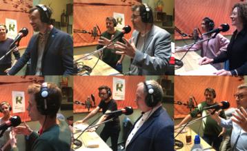 Live-uitzending van Radio Ringland