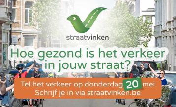 De vierde editie van Straatvinken vindt plaats op 20 mei 2021.