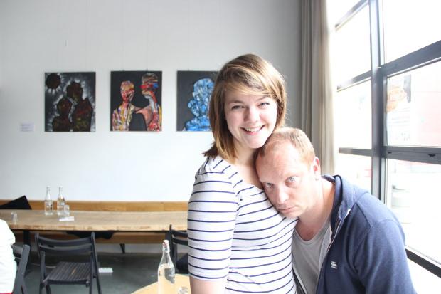 Caroline Lambrechts en Stefan Perceval
