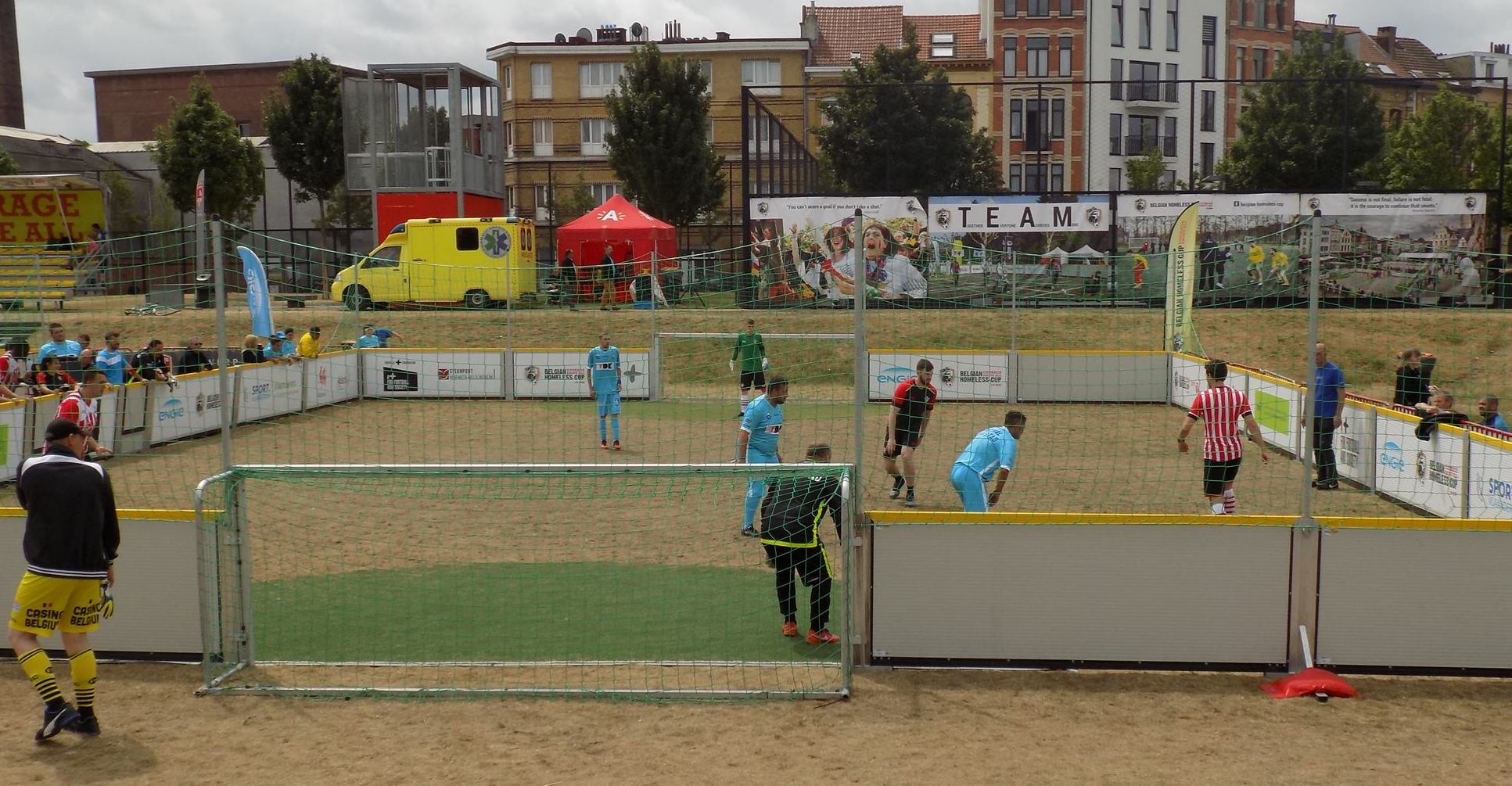 Belgian Homeless Cup in Antwerpen