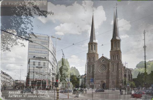 Antwerpen vroeger en nu