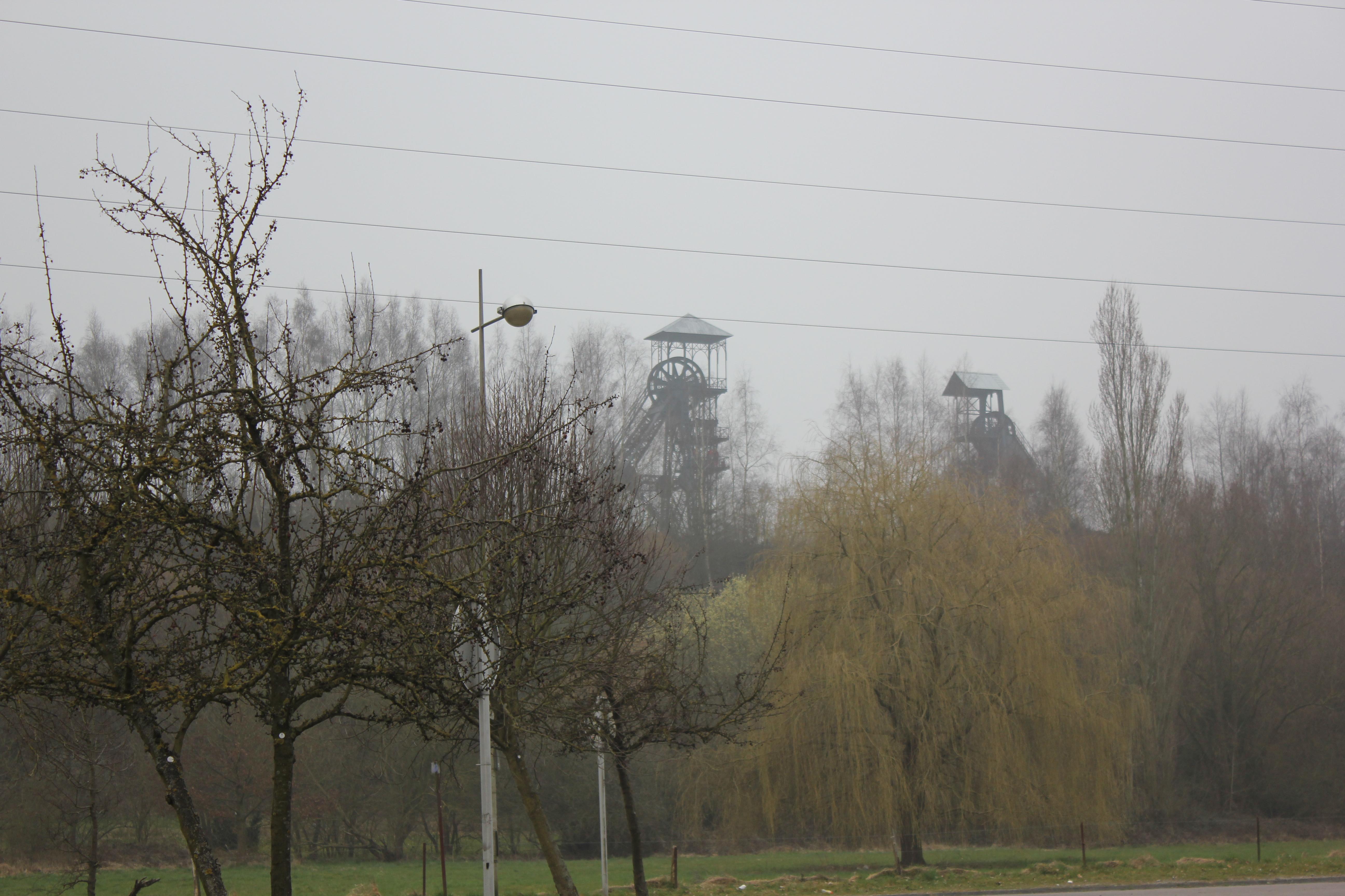 De oude mijnen van Marcinelle bij Charleroi
