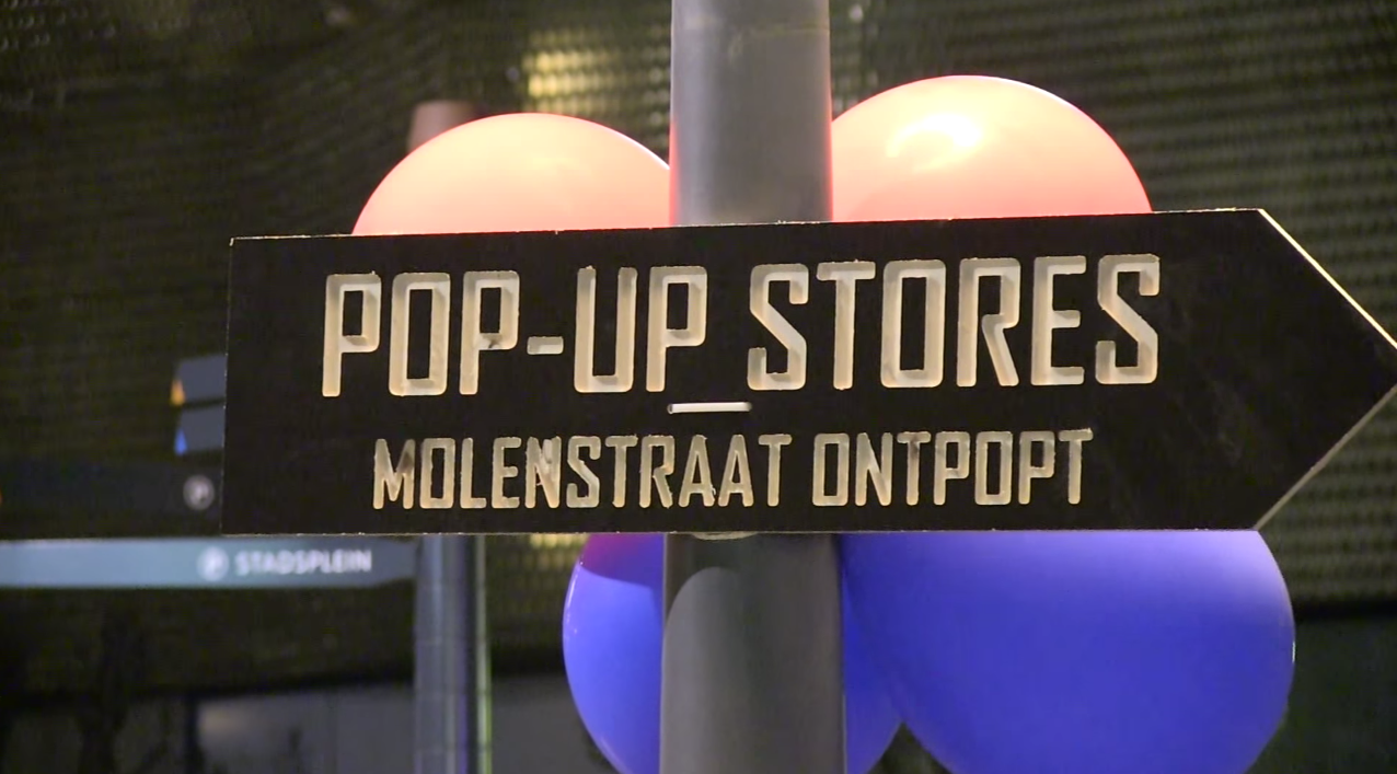Wegwijzer pop-up