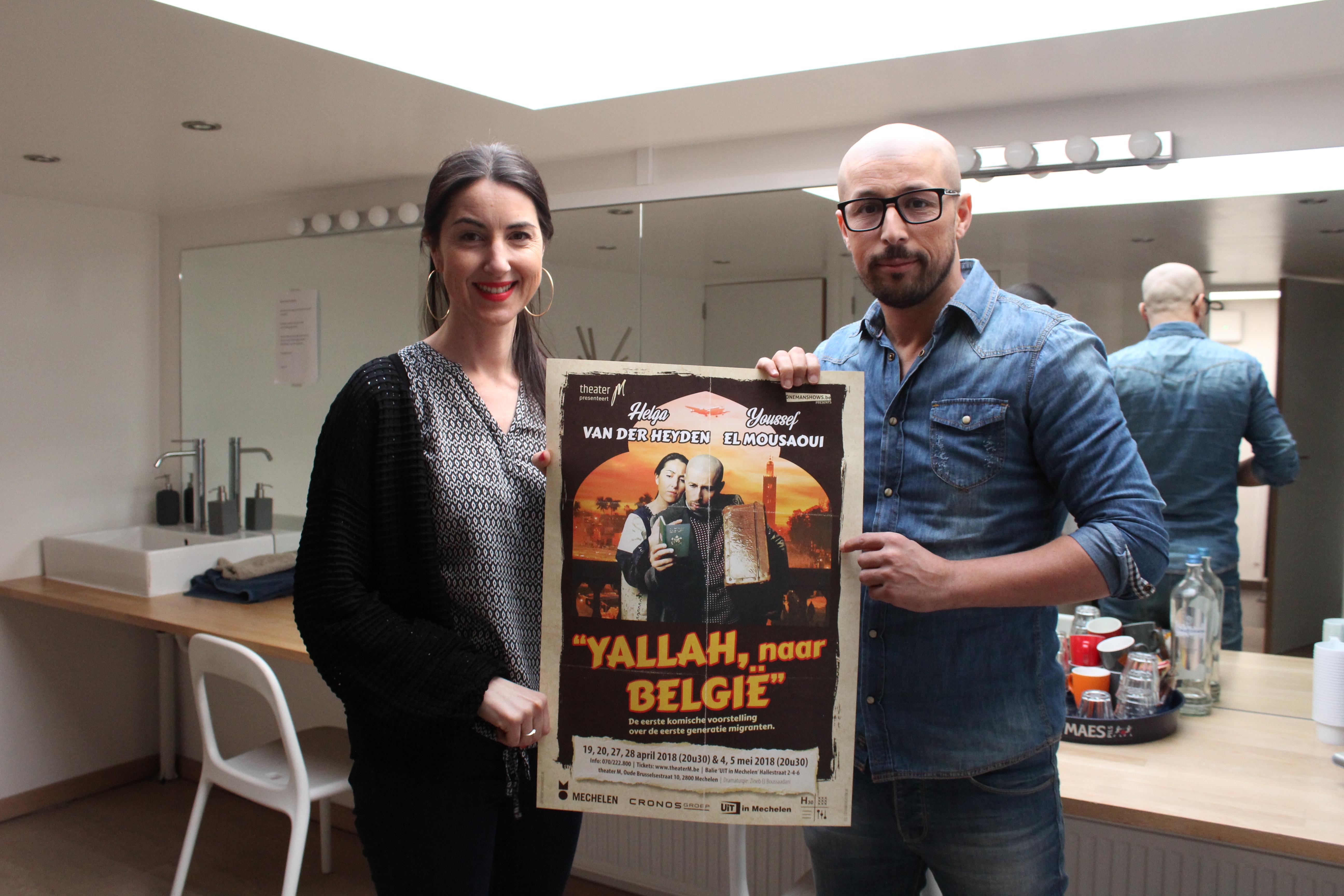 Acteurs Helga en Youssef