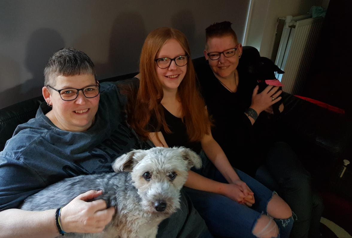 De familie van Lotta