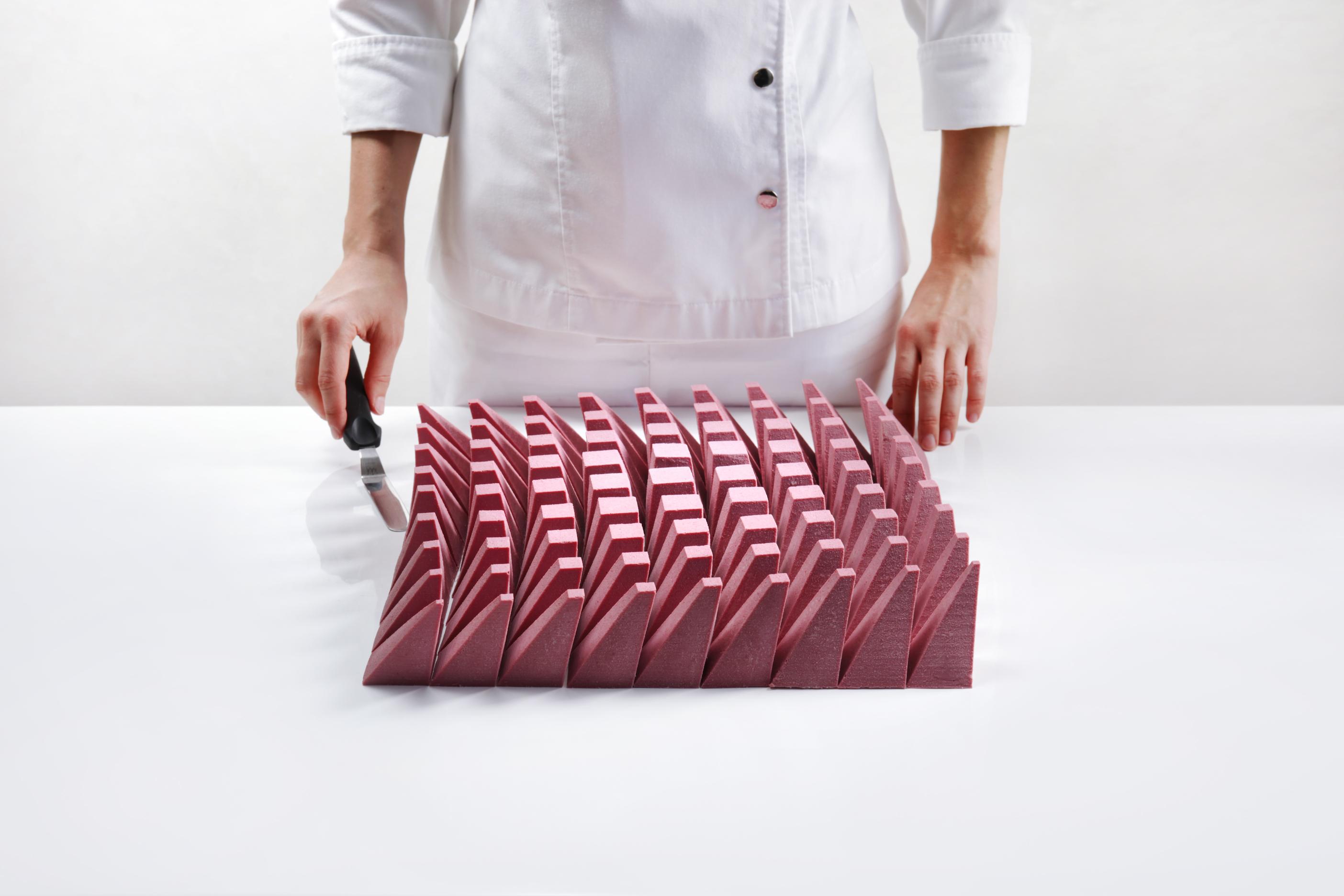 Geometrische 3D-dessert