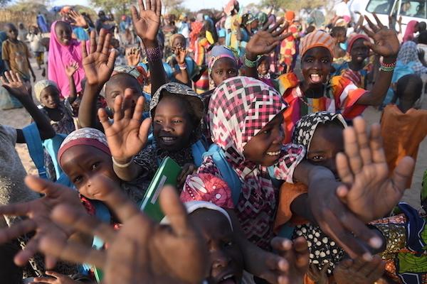 Gemiddeld bestaat een Nigerees gezin uit 7,6 kinderen.