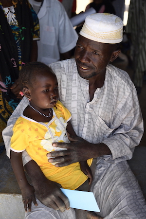 Warson en zijn dochter Hawaou