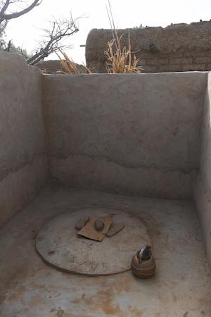 Een latrine