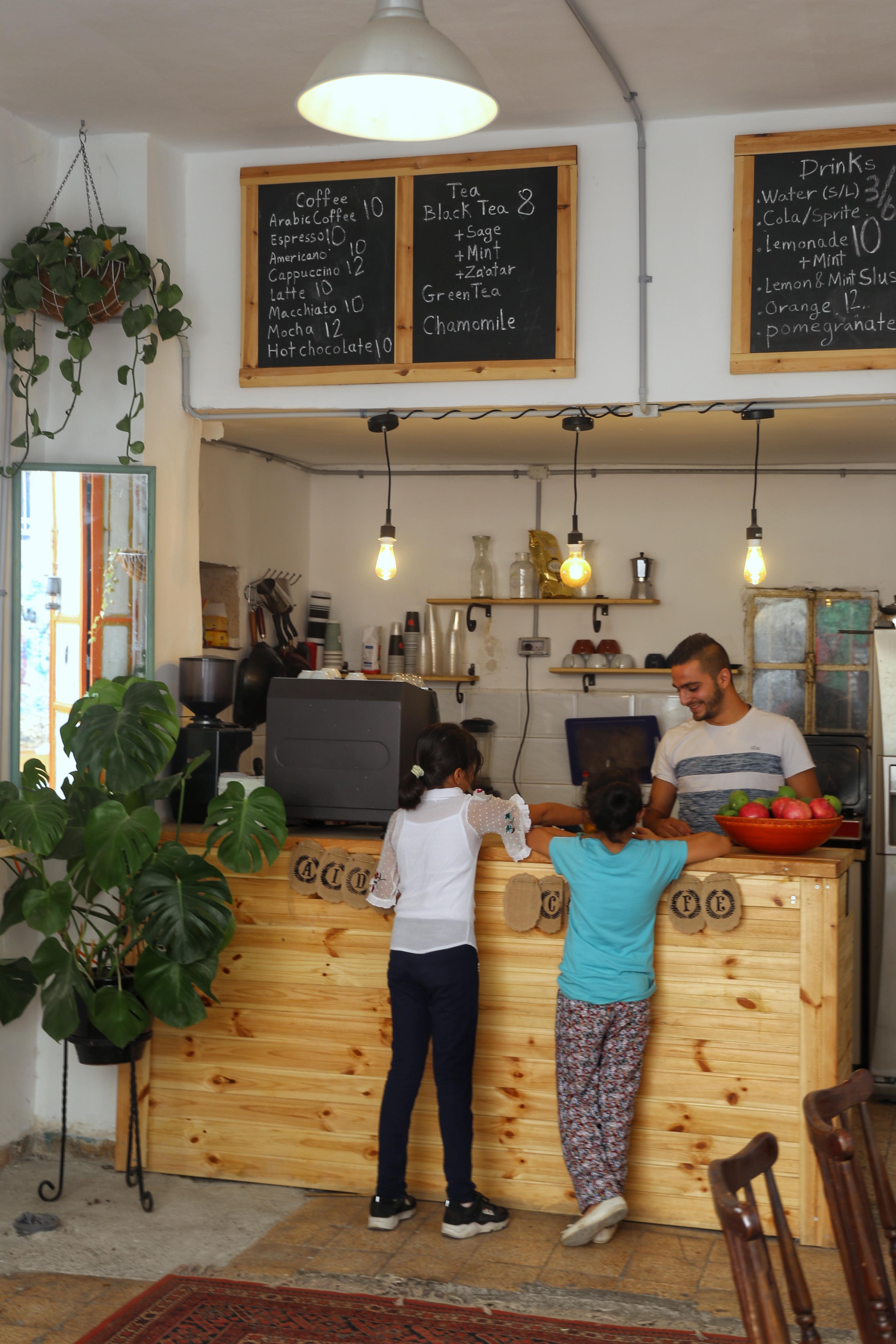 Koffiebar in Bethlehem
