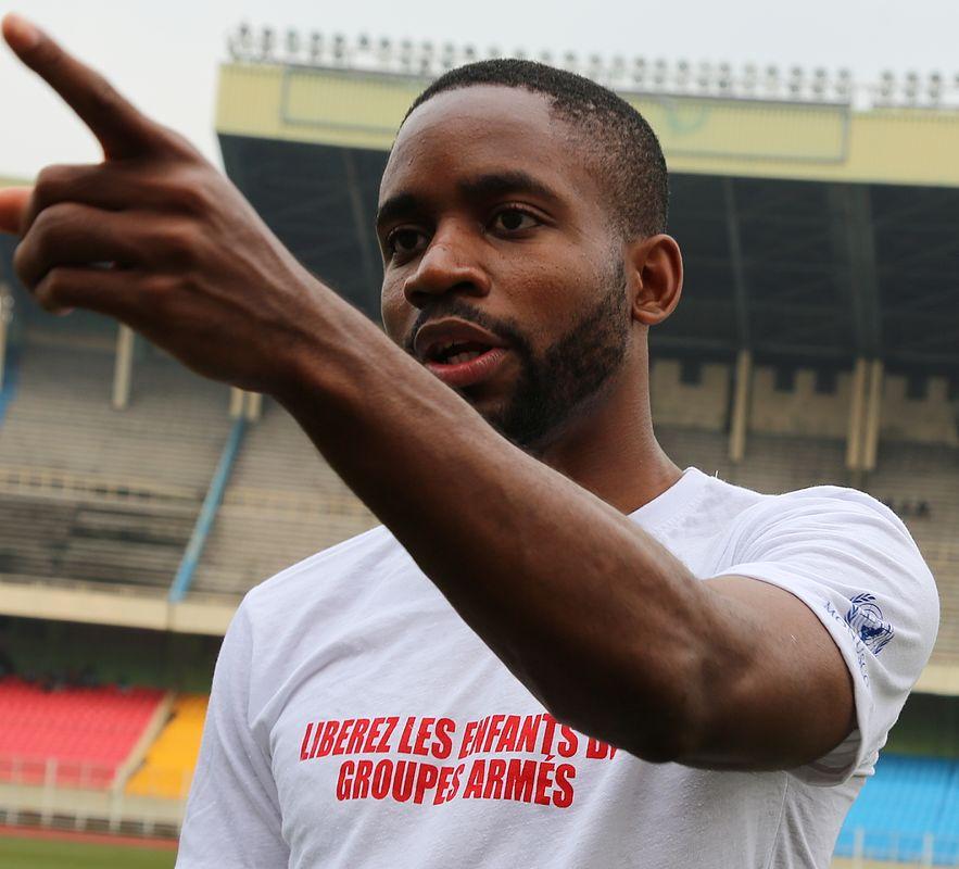 Voetballer Cedric Bakumbu