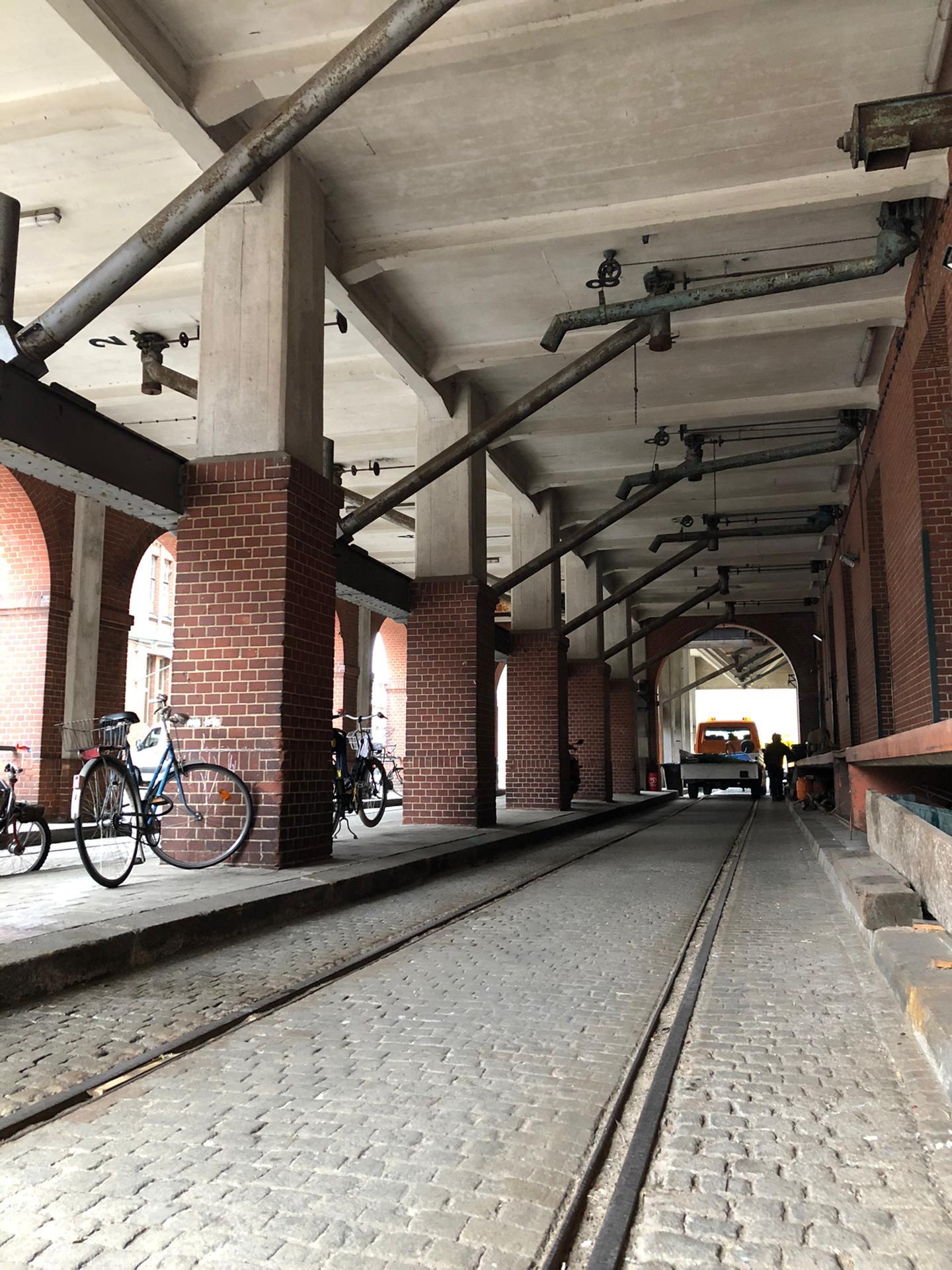 Het oude treinspoor